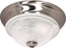 "Nuvo 60/586 - Triumph 1 Light 11"" Flush Fixture"