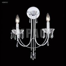 James R Moder 40882S22 - Crystal Rain Chandelier Wall Sconce